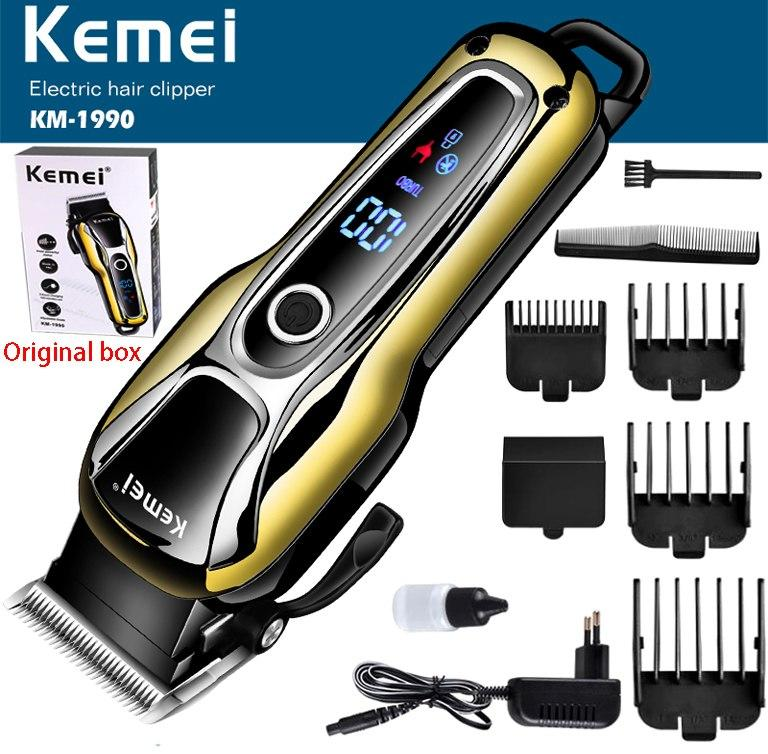 Kemei 110v-240v Professional Electric Rechargeable