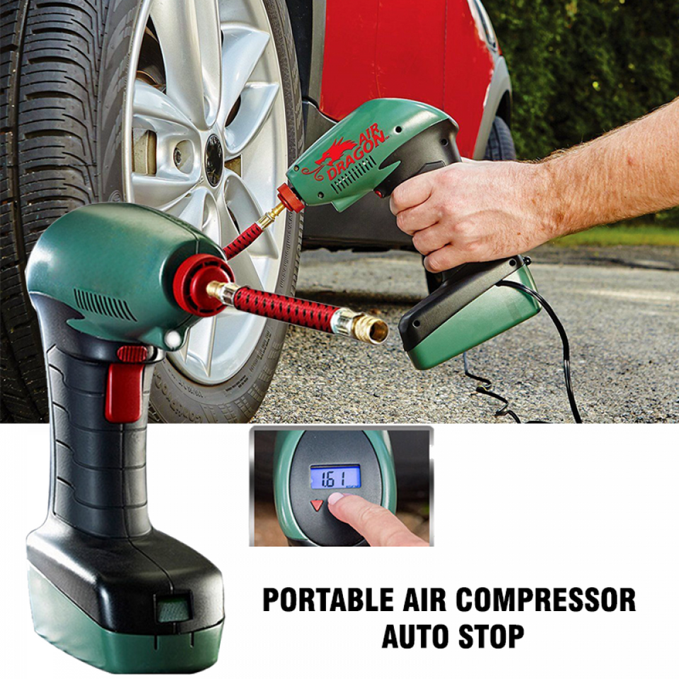 Air Dragon Portable Compressor Original 1 ans garantie