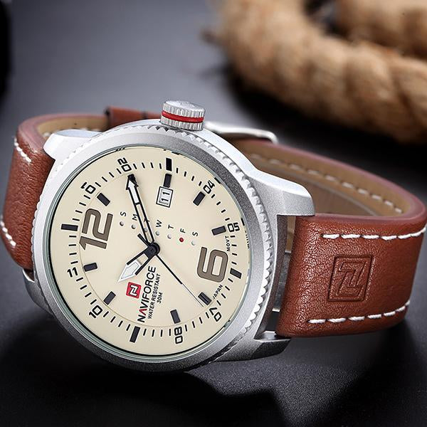 Mens Military Sports Watches Waterproof Quartz Date Clock
