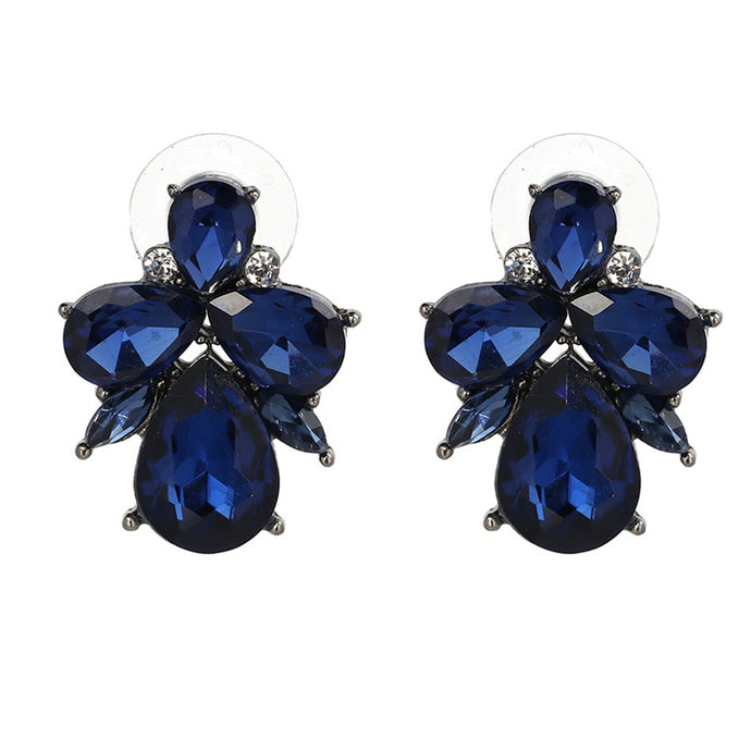 Drop Crystal Classic Earrings