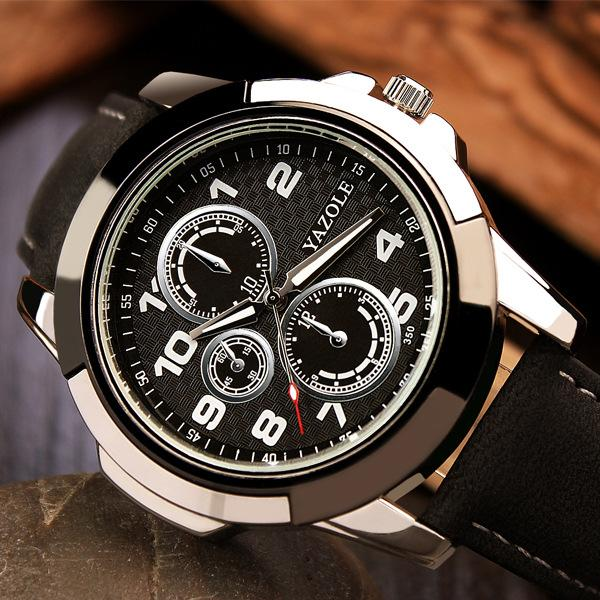 Top Brand Luxury Famous Mens Clock Quartz Watch