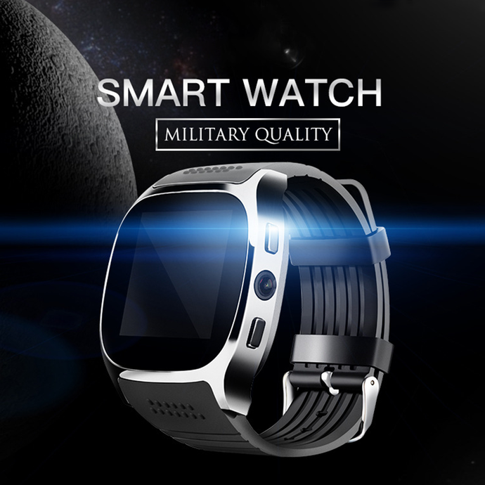 mens Bluetooth Smart Watch With Camera For Android