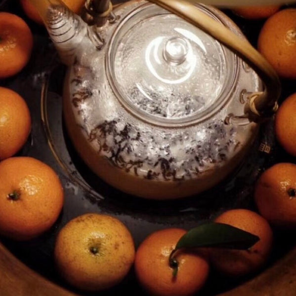 Winter Tea Snack - Baked Salty Mandarin