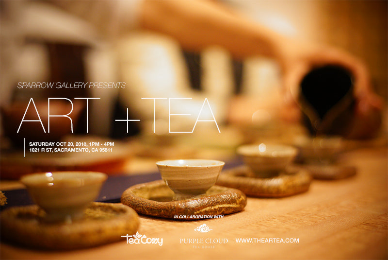 ART+TEA GATHERING OCT 20 2018