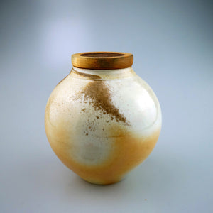 Woodfired Tea Container