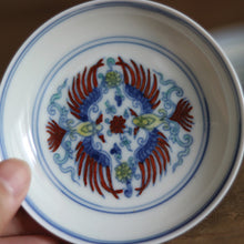 Load image into Gallery viewer, Hand Paint Dou Cai Porcelain Saucer
