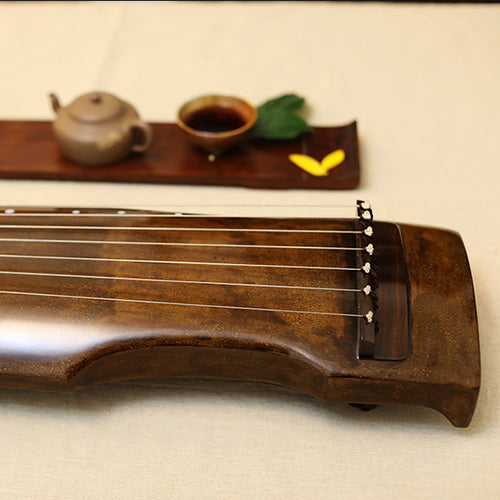 Traditional Guqin Made By Shi YunLong (Aged 50-80 years Kiriki/Sugiki Beams)