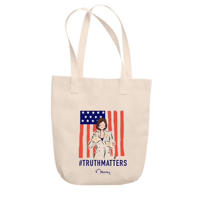 Nancy Pelosi #TruthMatters Tote
