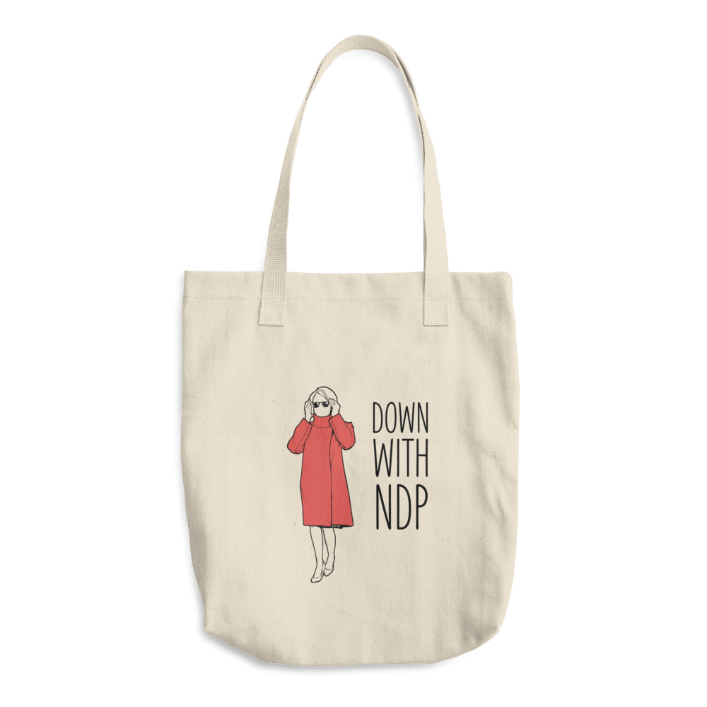 Down with NDP Tote