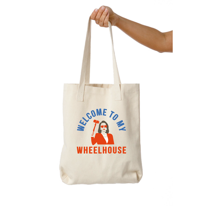 Nancy Pelosi Welcome to my Wheelhouse Tote
