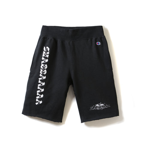 SHABBAAAAA x CHAMPION fleece shorts