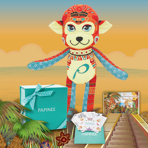 Vani the Monkey - Mexico City, Mexico (Storytelling Kit)