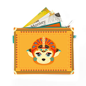 Vani the Monkey - Mexico City, Mexico (Travel Storytelling Kit)