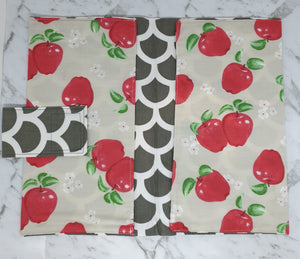 Apples Nappy Wallet