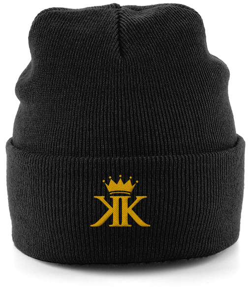 Cuffed Beanie With Embroidered logo