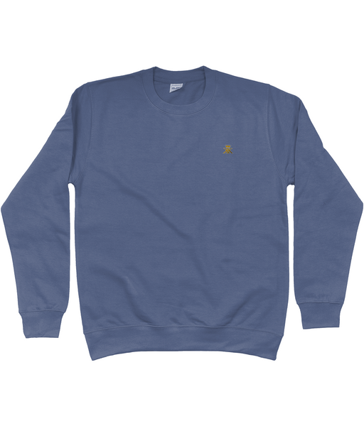 Sweatshirt With Embroidered logo