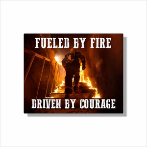 Fire Fighter Wall Art | Central Coast Canvas