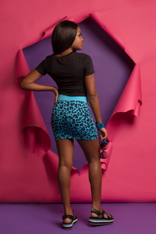 Color Me Leopard Skirt