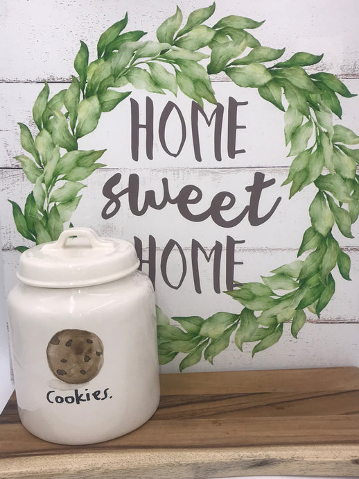 Rae Dunn cookies Canister
