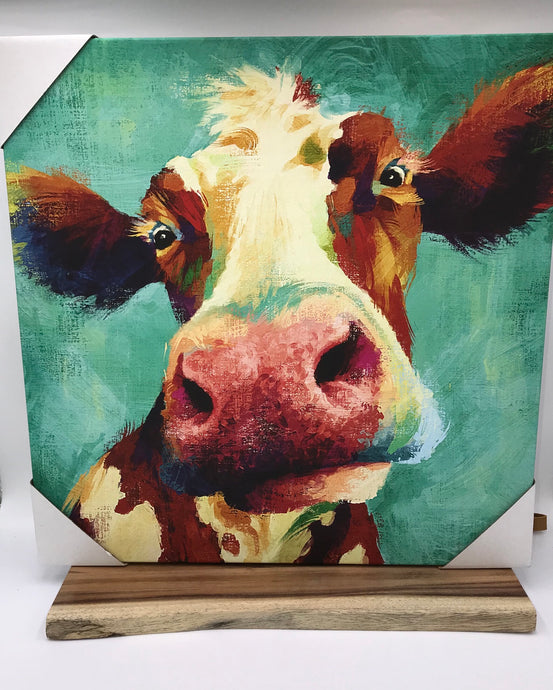 Farm Style Cow Picture Frame
