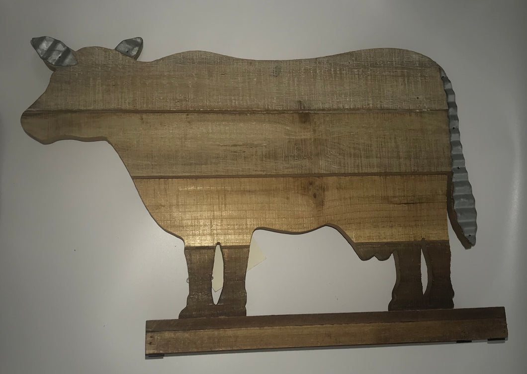 Wood Cow