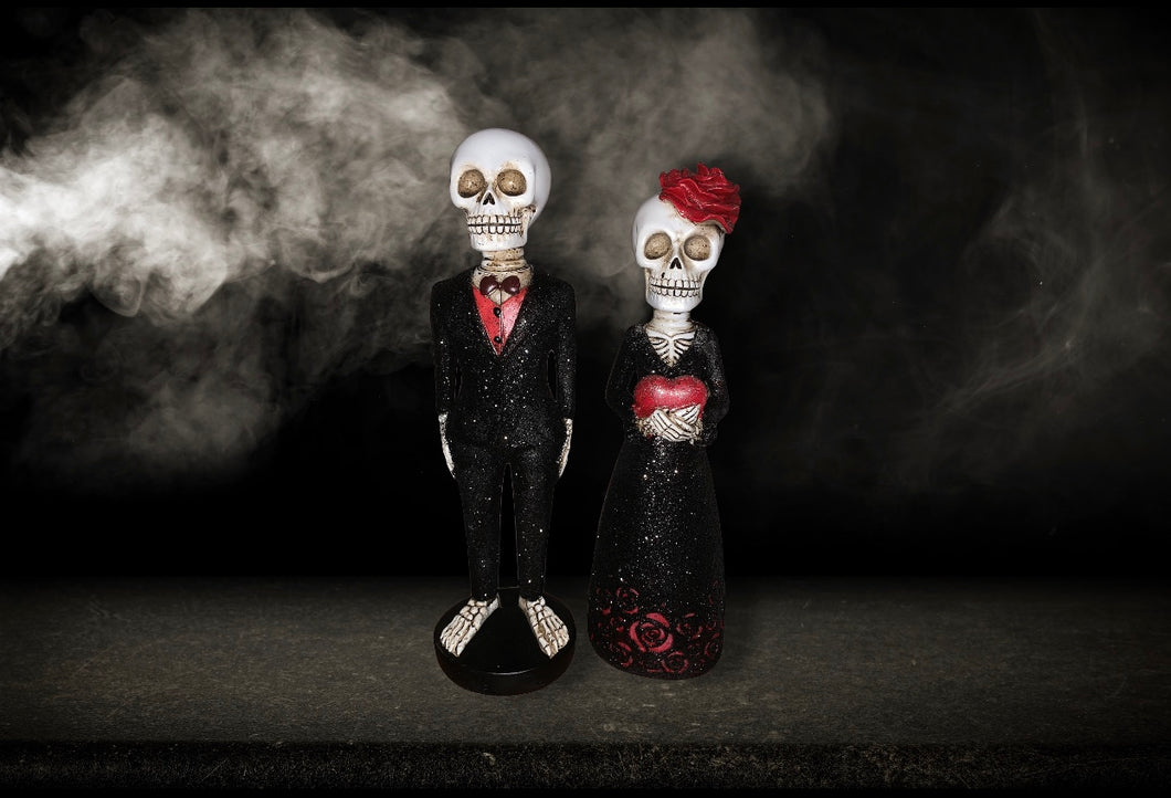 Day Of the Dead Elegant Couple