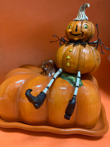 Johanna Parker Pumpkin with legs