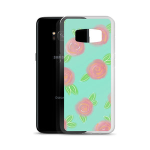 Watercolor Roses Samsung Case