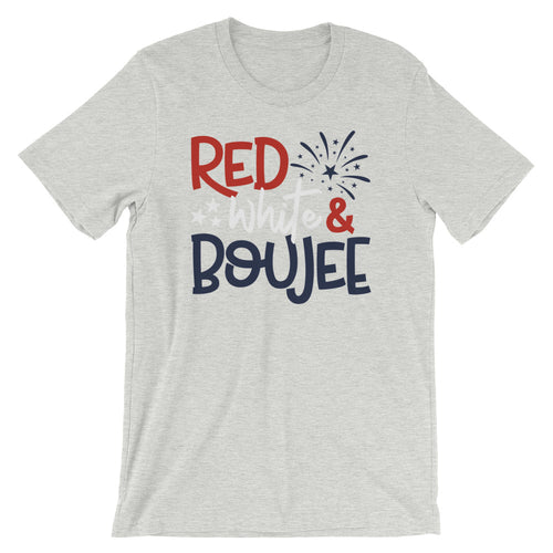 Red White And Boujee Short-Sleeve Unisex T-Shirt