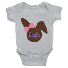 Personalized Easter Rabbit Infant Bodysuit