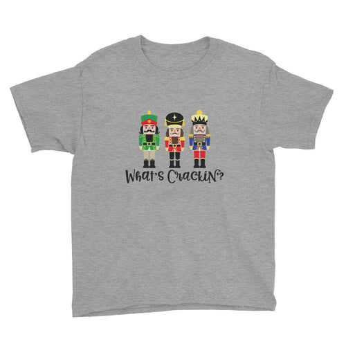 What's Crackin' Nutcracker Kids Short Sleeve T-Shirt