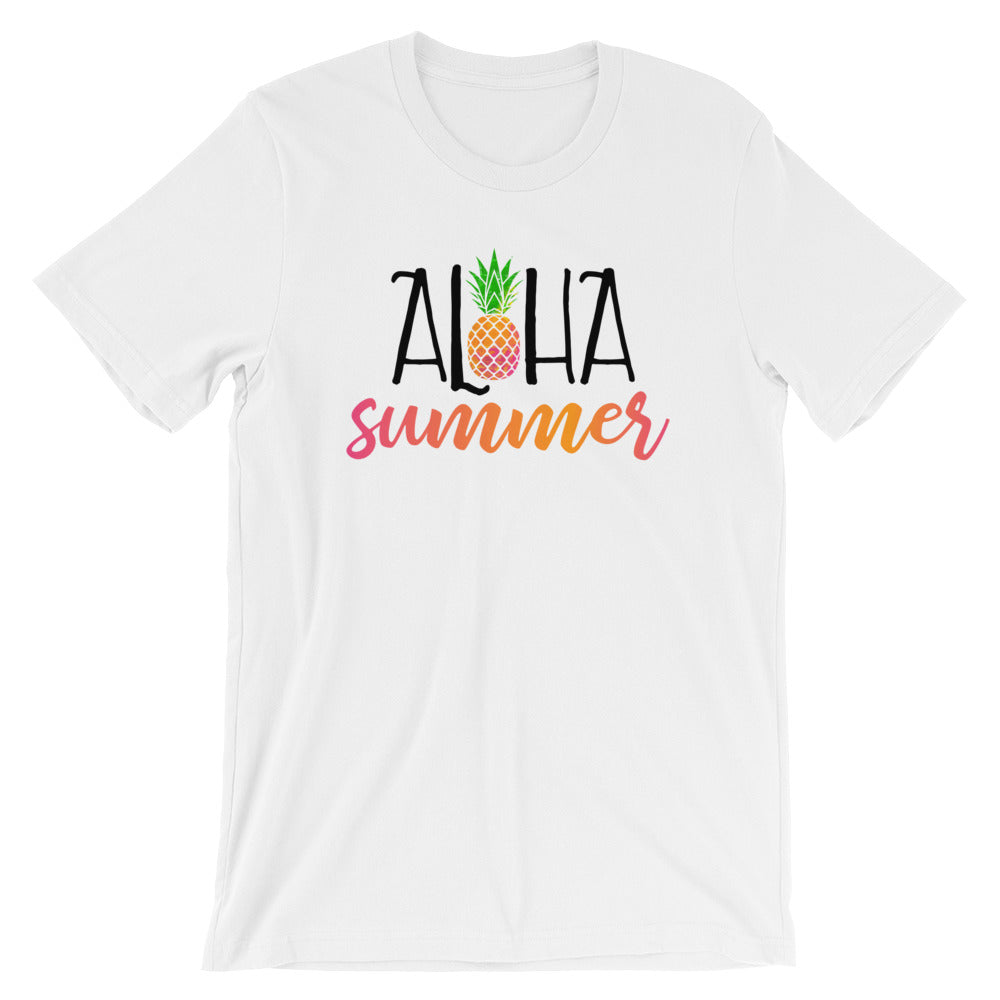 Aloha Summer Short-Sleeve Unisex T-Shirt