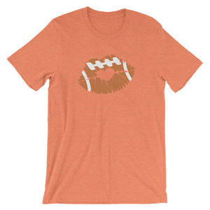 Football LIps Short-Sleeve Women's T-Shirt