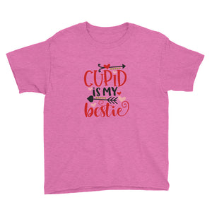 Cupid is my Bestie Youth Short Sleeve T-Shirt