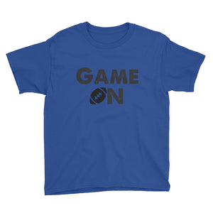 Game On Football Youth Short Sleeve T-Shirt