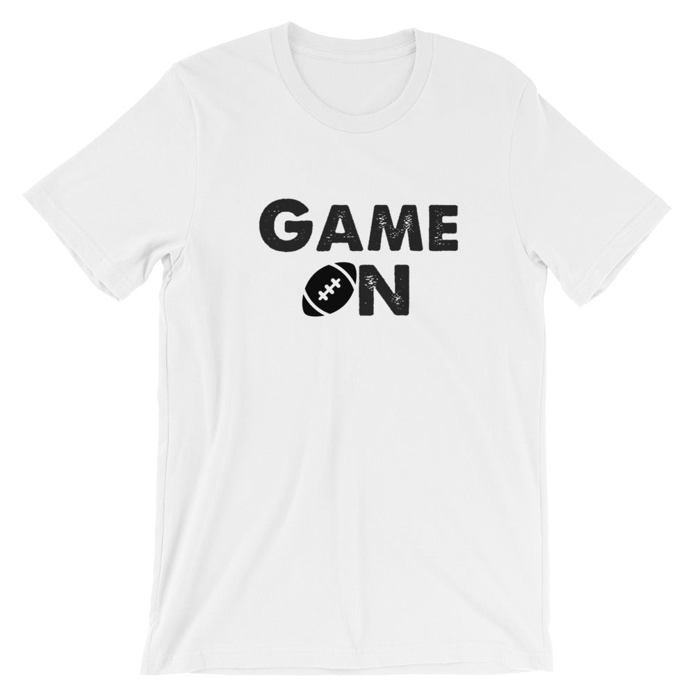 Game On Football Short-Sleeve Unisex T-Shirt