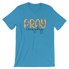 Pray Everyday Floral Short-Sleeve Women's T-Shirt