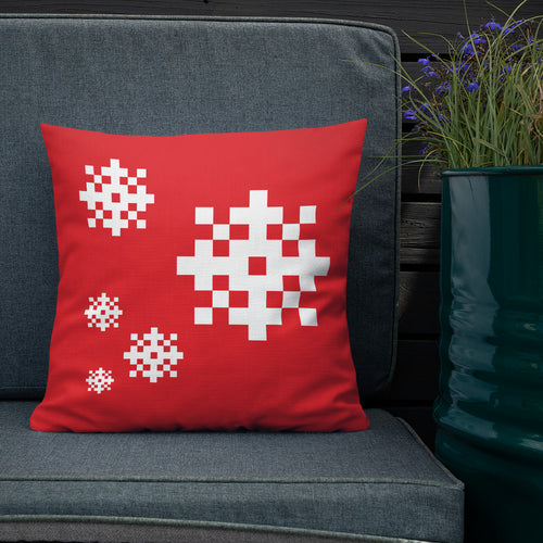 Snowflake Premium Pillow