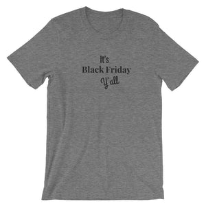Black Friday Y'all Short-Sleeve Women's T-Shirt