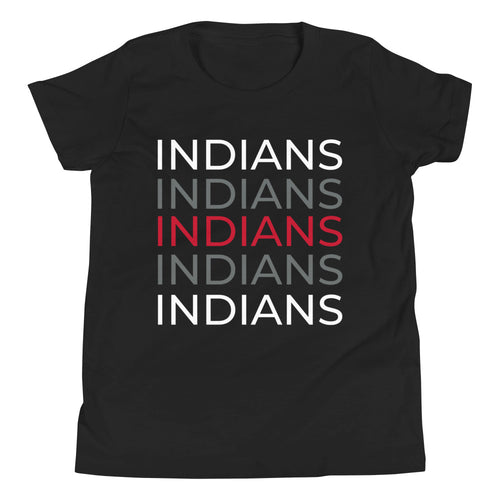 Indians Youth Short Sleeve T-Shirt