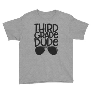 3rd Grade Dude Kids Short Sleeve T-Shirt
