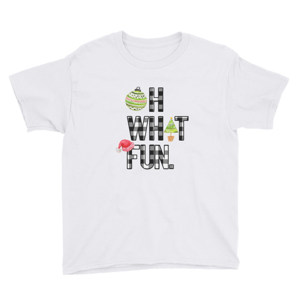 Oh What Fun Youth Short Sleeve T-Shirt
