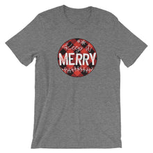 Keep it Merry Buffalo Check Short-Sleeve Women's T-Shirt