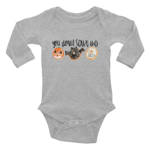 You Donut Scare Me Infant Halloween Long Sleeve Bodysuit