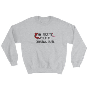 Christmas Lights Women's Sweatshirt