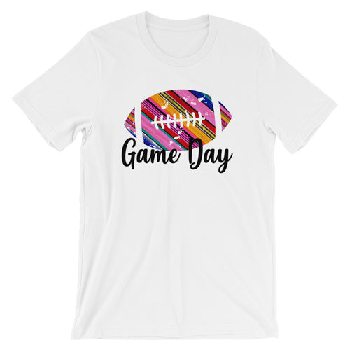 Game Day Serape Short-Sleeve Women's T-Shirt