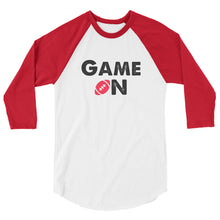 Game On Football Womens 3/4 sleeve Raglan shirt