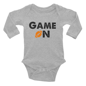 Game On Infant Long Sleeve Bodysuit