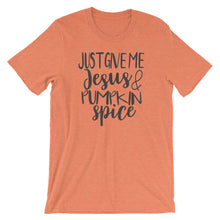 Jesus and Pumpkin Spice Short-Sleeve Women's T-Shirt