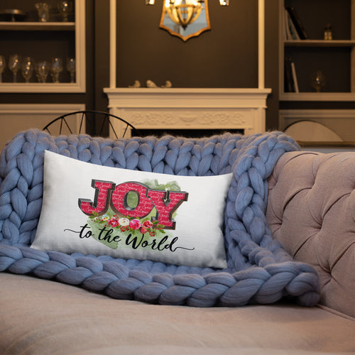 Joy to the World Premium Pillow